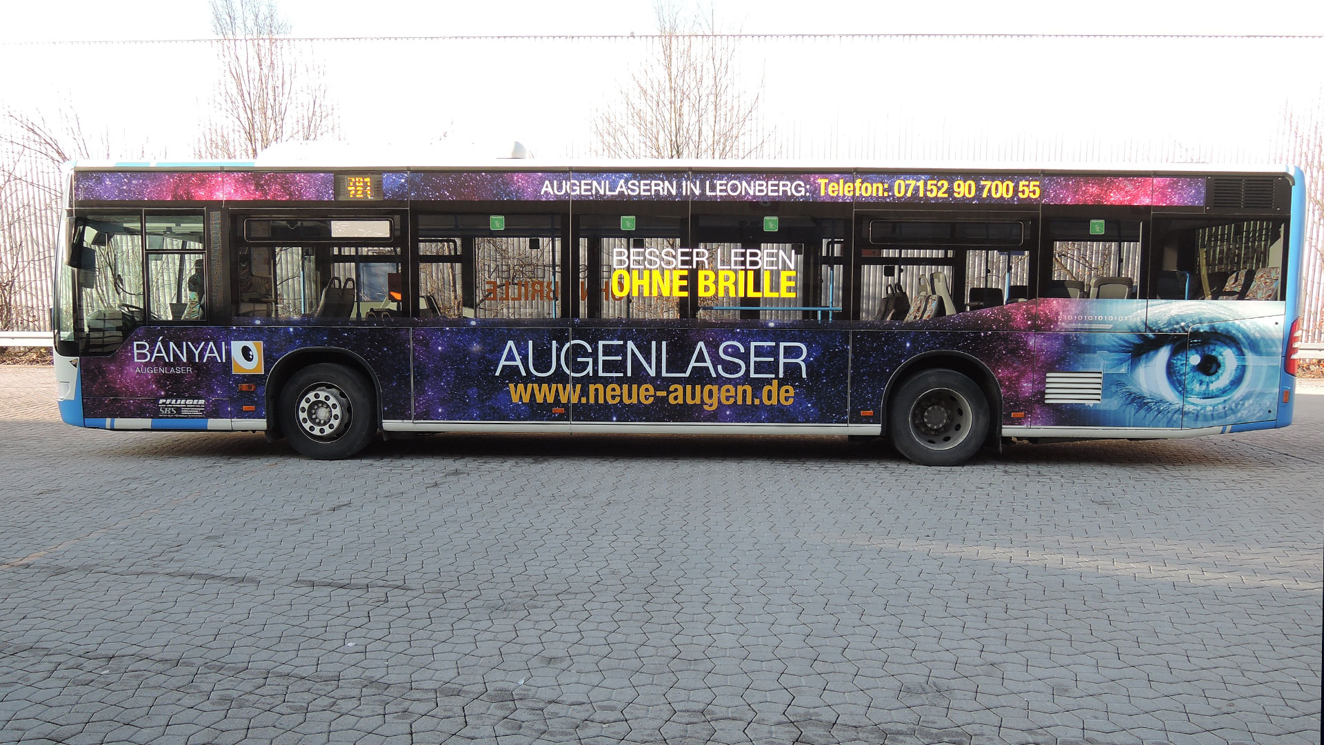 Buswerbung Sindelfingen