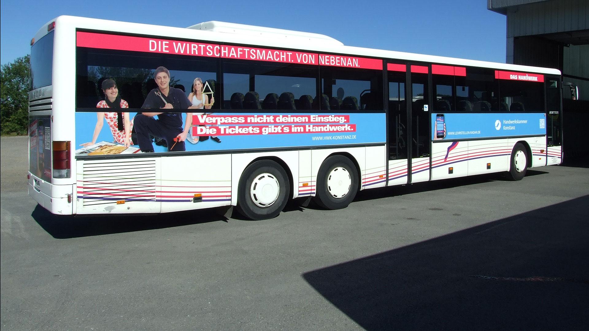 Buswerbung Balingen