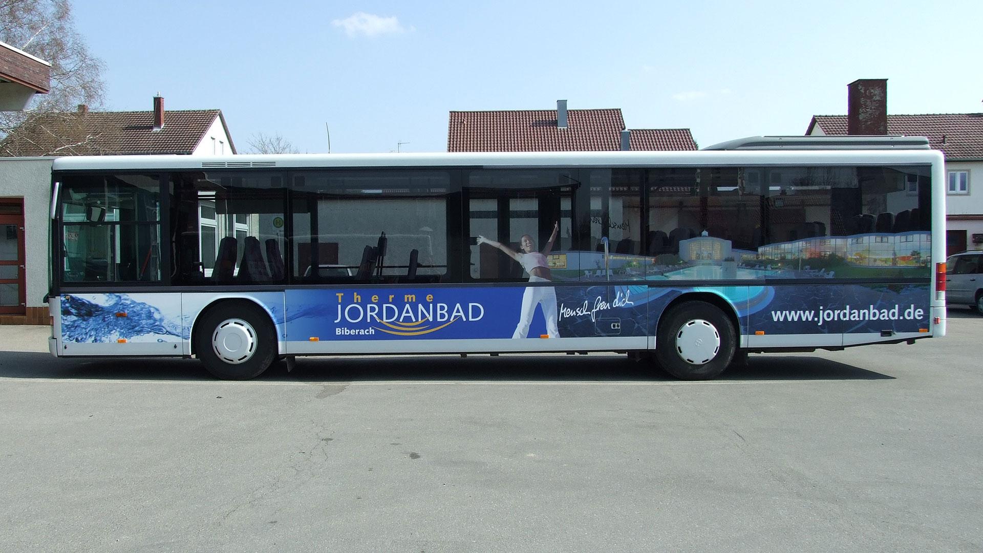 Buswerbung Biberach