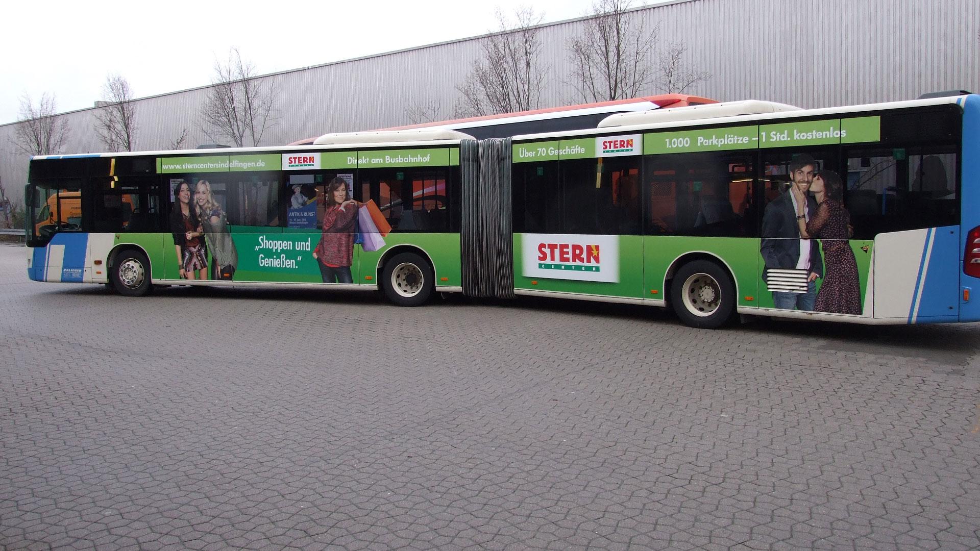 Buswerbung Böblingen