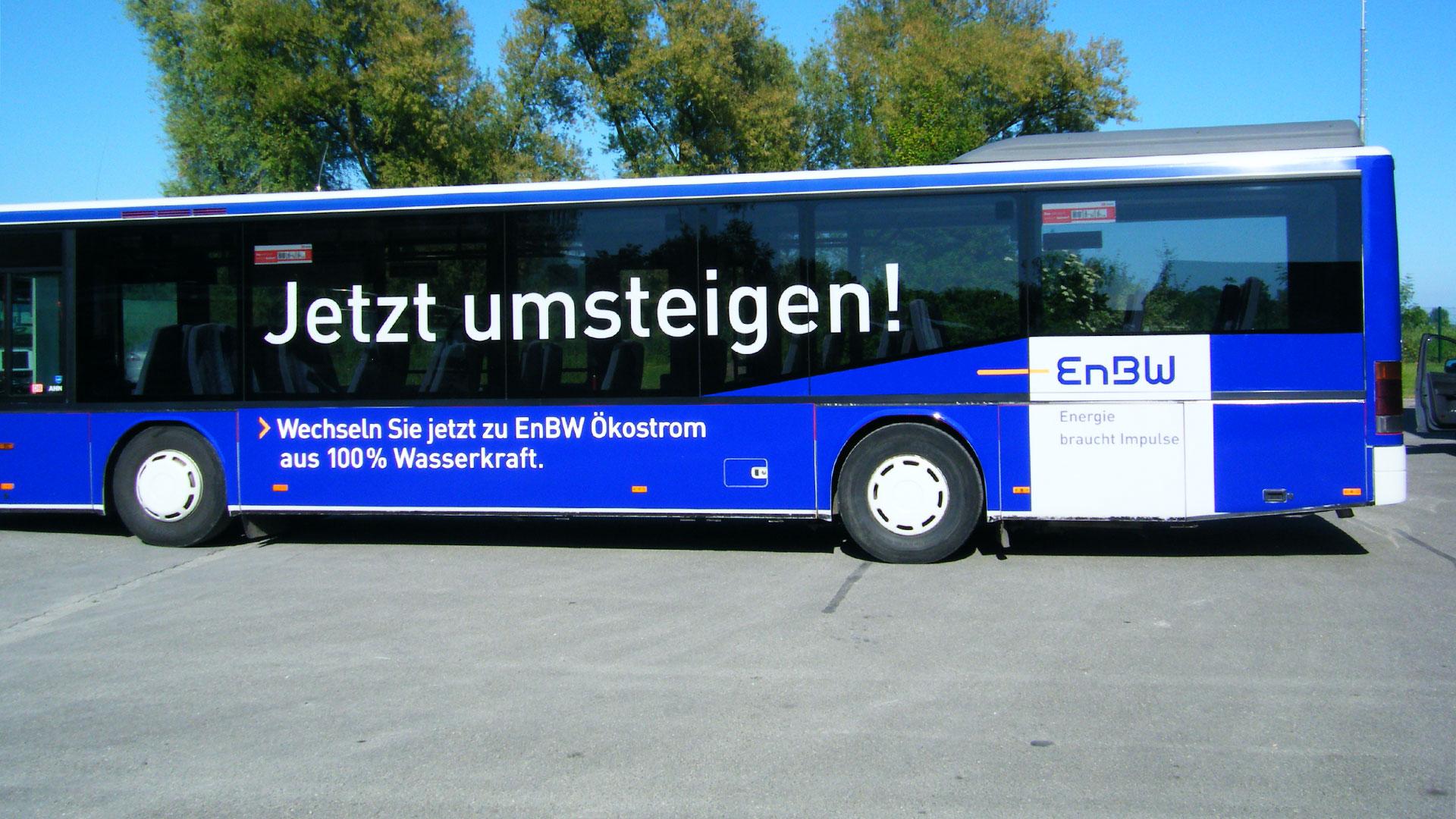 Buswerbung Friedrichshafen