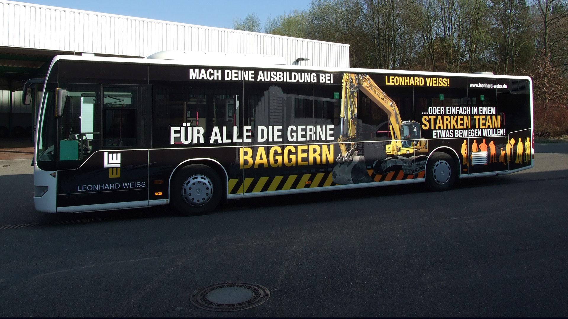 Buswerbung Göppingen