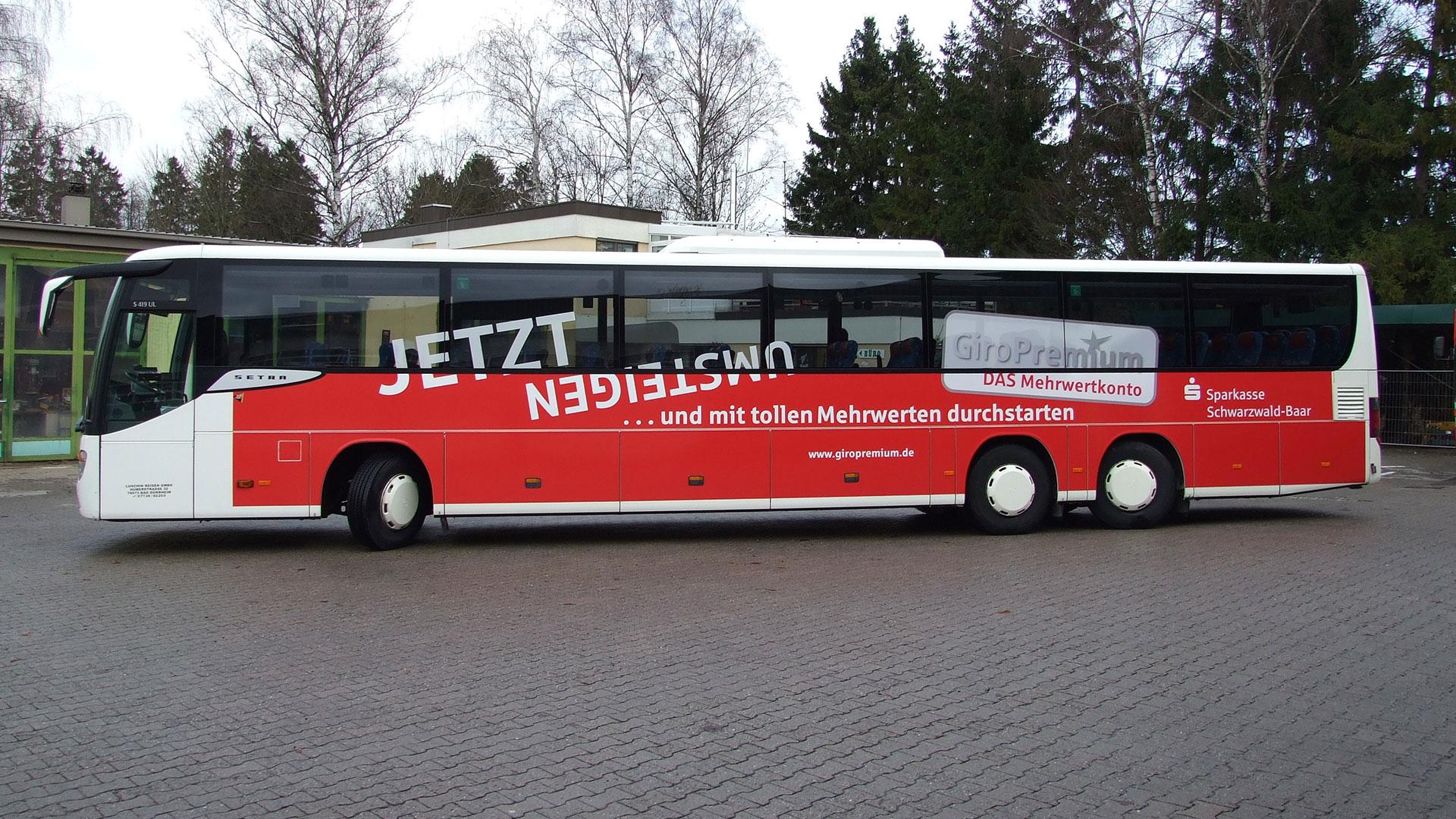 Buswerbung Villingen-Schwenningen