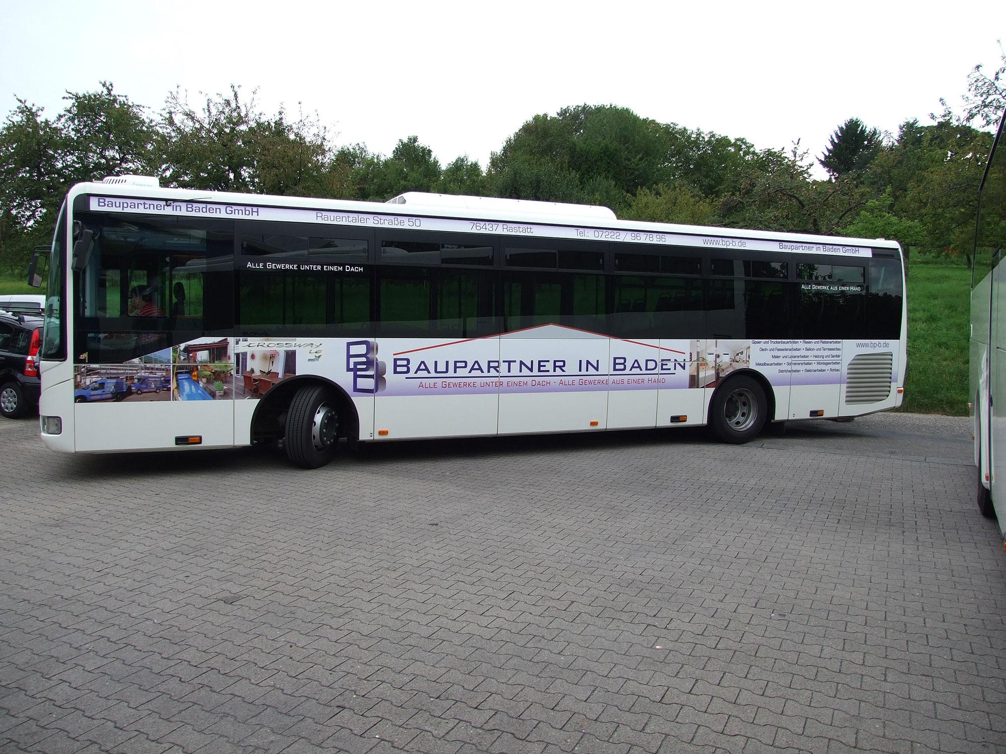 Buswerbung Baden-Baden