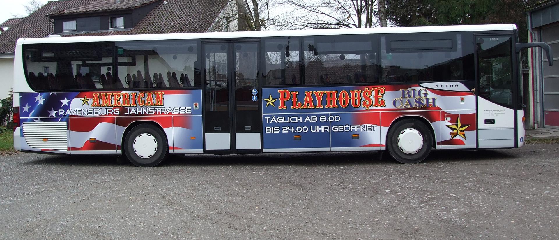 Buswerbung Ravensburg