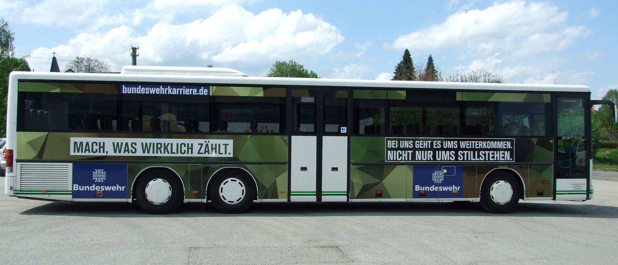 Buswerbung Rottweil