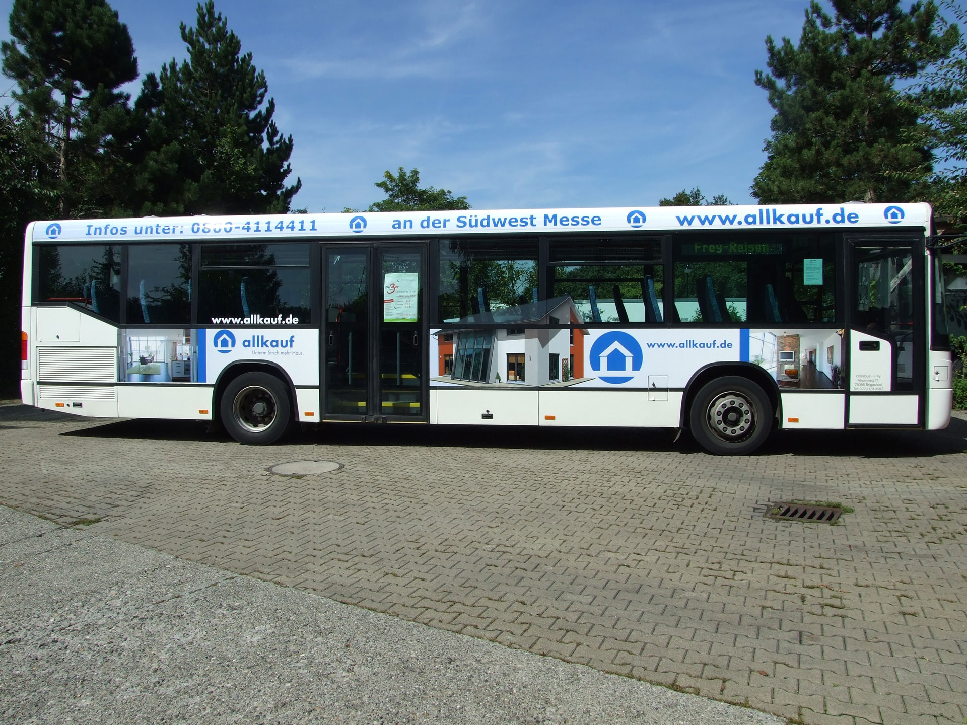 Buswerbung Tuttlingen