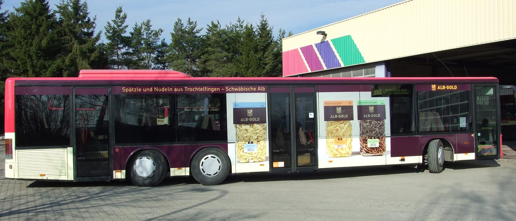 Buswerbung Tübingen